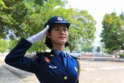 驕傲!參加國慶閱兵儀式的23歲肇慶姑娘,回家啦!