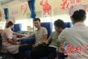 """""""热血致青春 为生命加油""""无偿献血公益活动走进高要区第一中学"""