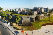 """府城公园初建成""""一城环绿""""现美景"""