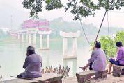 鼎湖区沙浦镇沙洲岛 致富桥开通在即 穷村终于盼到头