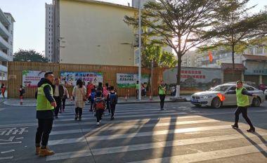 """肇庆市奥威斯实验小学推行""""警家校""""联合机制"""
