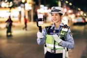 懷集交警女主播何美連 直播交通執法超兩百萬播放量