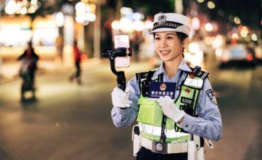 直播交通执法超两百万播放量