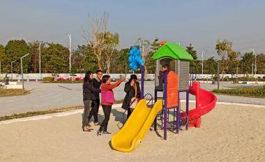 鼎湖又有新公园对市民开放