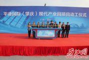 肇庆新区3大项目集中动工、投产