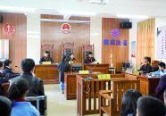 怀集模拟法庭进校园