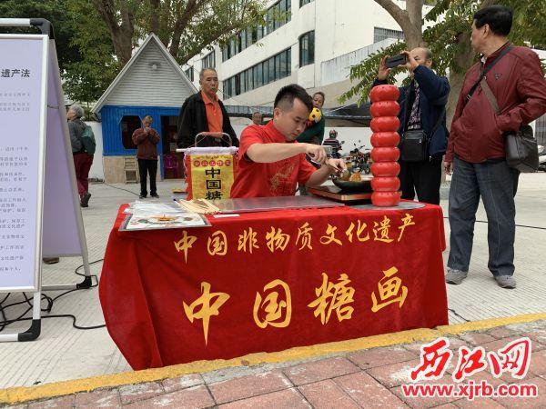 <a href=http://www.iuiu77.com/news/china/ target=_blank class=infotextkey>中国</a>糖画展示。通讯员供图