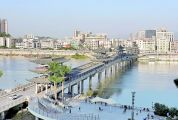 全省第一座集通行、观光功能于一体的桥梁 柑乡大桥:四会城市腾飞的助推器