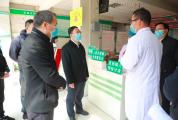 范中杰指导检查疫情防控工作并看望慰问一线工作人员