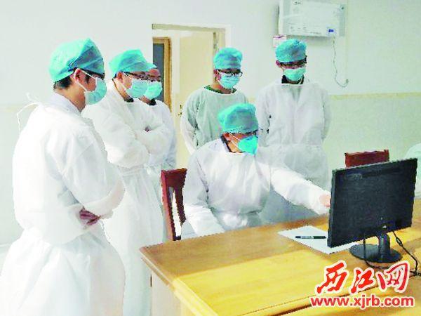 呼吸内科邹天士主任到封开指导工作。