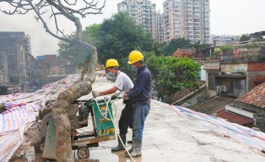 肇庆古城墙修缮保护工程逐步复工
