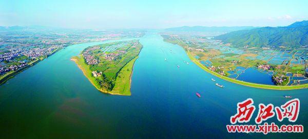 黃金水道西江。