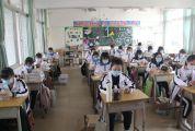 课室里又传来郎朗读书声 鼎湖首批复课学生喜迎开学
