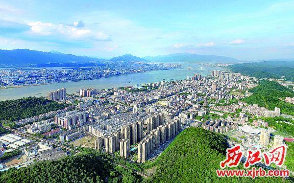 广东青青草手机在线市高要城区面貌。 青青草a免费线观a通讯员 苏科伟 摄