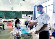 广东文理职业学院20万只口罩捐肇庆