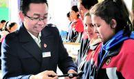 援藏又援疆的最美教師志愿者