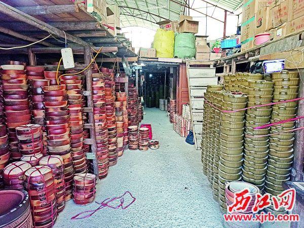 新恒发日什陶瓷店。 青青草a免费线观a记者 吴威豪 摄