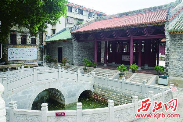 高要学宫内部。 西江日报记者 陈松连 摄