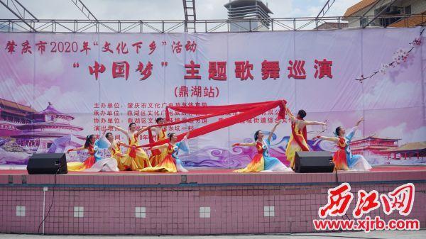 """青青草手机在线市2020年""""文化下乡""""活动走进鼎湖。通讯员林小炜摄"""