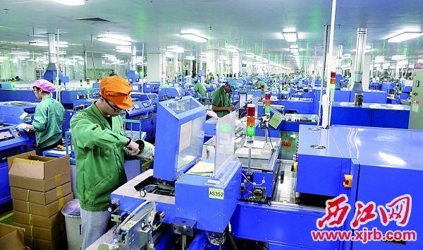風華高科生產車間一景。