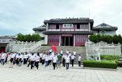 """始建于明代,""""江楼晚眺""""是肇庆八景之一 阅江楼:跨千年历史阅西江风流"""