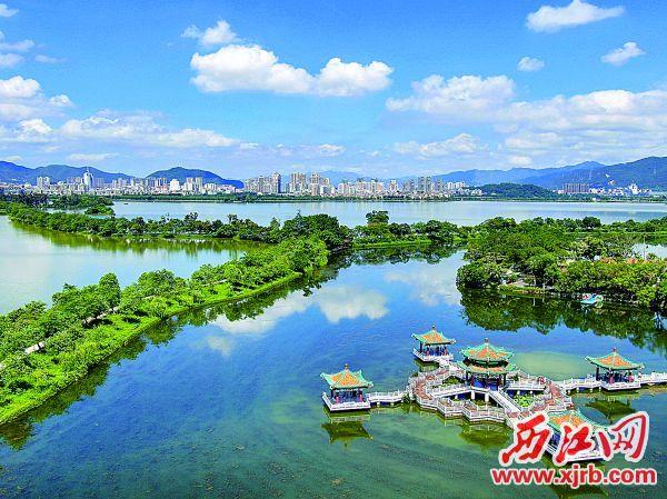优质的空气,让肇庆天更蓝景更美。 西江日报记者 吴勇强 摄