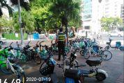 肇慶整治違規共享電動車、共享自行車