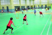 城东公园羽毛球馆重新对外开放