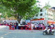 法治小广场成为社区网格管理宣传阵地