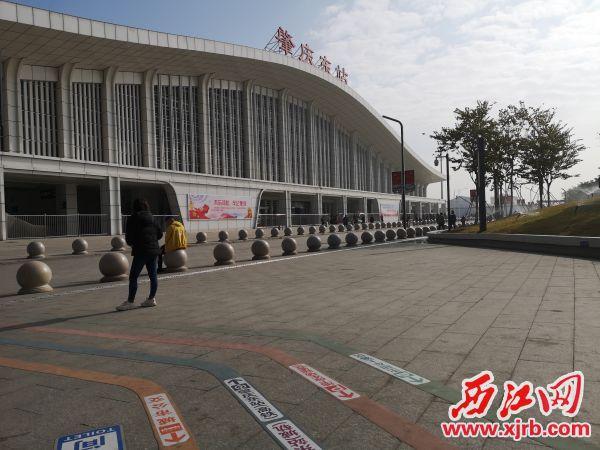 肇庆东站。 记者 岑永龙 摄
