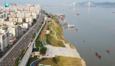 飞阅江滨公园,一道亮丽的江滨风景线!