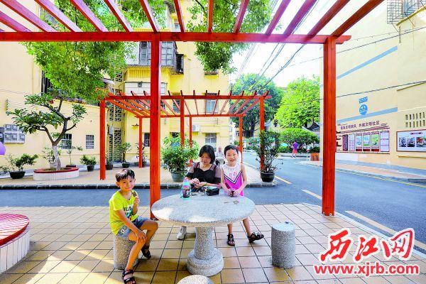 端州老旧小区旧貌换新颜,居民住得安心舒心。 西江日报记者 梁小明 摄