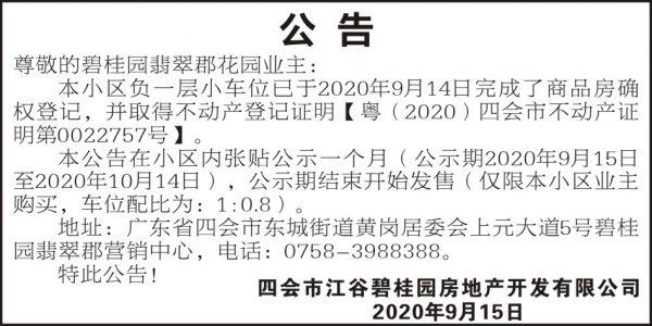 江谷碧桂園4X8