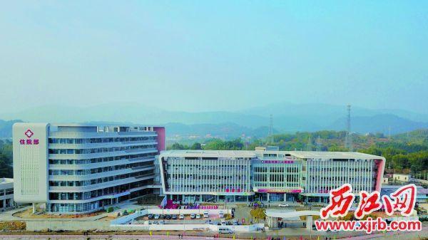四会市江谷镇中心卫生院升级为四会市第二人民医院,医疗综合服务能力进一步提升。  西江日报通讯员 供图