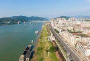 全长10公里的沿江风景线呈现眼前!江滨公园中段工程即将完工!