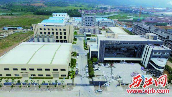 瀚和(高要)精細化工產業基地。 西江日報通訊員 陳彥成 攝