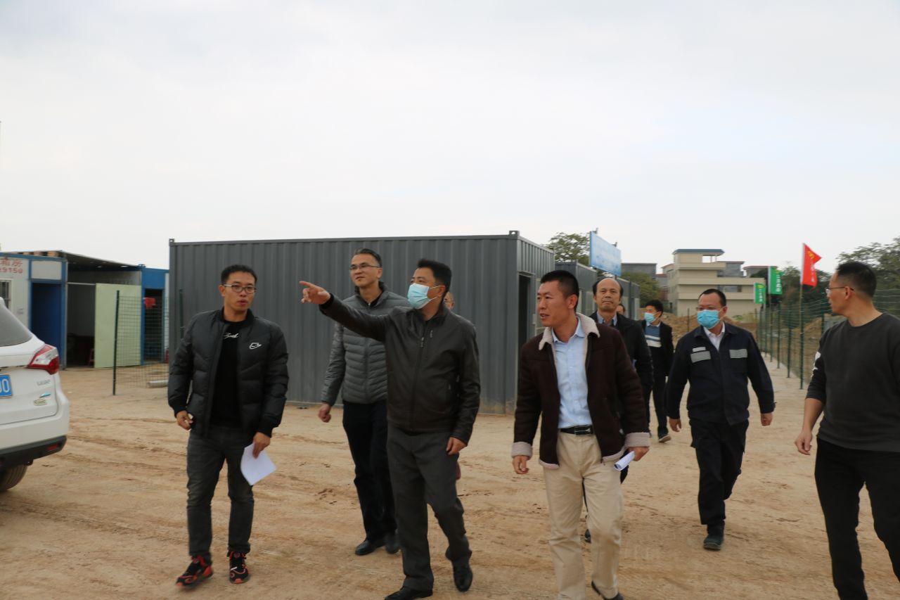 肇庆新区以巡查为抓手,全面推进产业招商落地工作