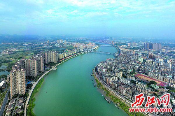 四会市打造粤港澳大湾区高品质现代化城市。 西江日报记者 曹笑 摄