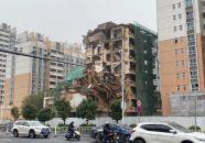 人民北路这栋楼房拆了
