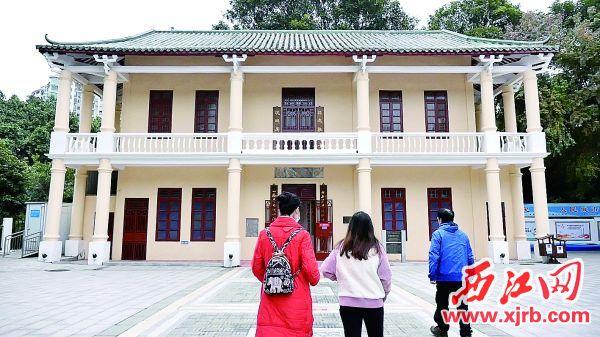 西江宣传养成所旧址后改建为汉谋图书馆。 西江日报记者 赖小琴 摄