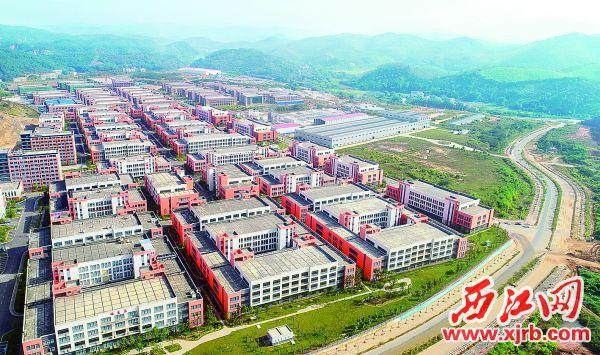 肇庆市封开县和粤桂合作特别试验区(肇庆)的产业招商工作实现了较大突破。 西江日报记者 梁小明 摄