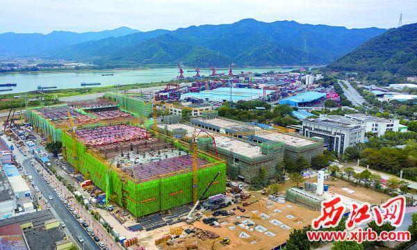 投资75亿元的风华高科祥和产业园高端电容生产基地项目已初具规模。