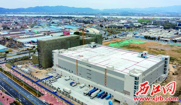 投资23.5亿元的高济医疗·广东邦健总部项目正在加快推进。