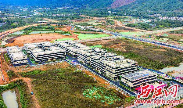 首期投资10亿元的中南高科·肇庆端州双龙科创产业谷首批12家企业于 2020年12月15日提前入驻。