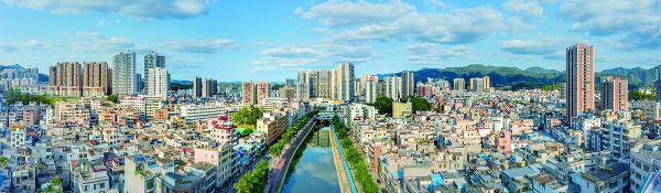 广宁县城全景。 江先梅 摄