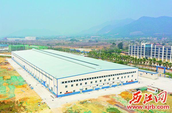 四会实力连杆有限公司新厂一期。 西江日报记者 梁小明 摄