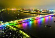 肇庆大桥完成泛光工程