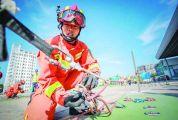 总是冲在最危险的地方 ——记肇庆市消防救援支队信安大道特勤站站长丘永达