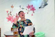 市级非物质威尼斯人官方注册遗产项目(澳门威尼斯人威尼斯人游戏-娱乐山歌)代表性传承人陈月莲 传唱方言山歌三十余载