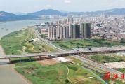 肇庆江滨路有多长?一直走到尽头将通往哪里?震撼航拍带你了解